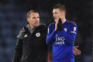 Brendon Rodgers doesn't expect England return for Jamie Vardy