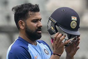 Rohit Sharma defends himself after getting out for 'unbelievable and irresponsible shot'