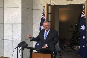 Australia PM acknowledges mistakes in handling bushfire crisis