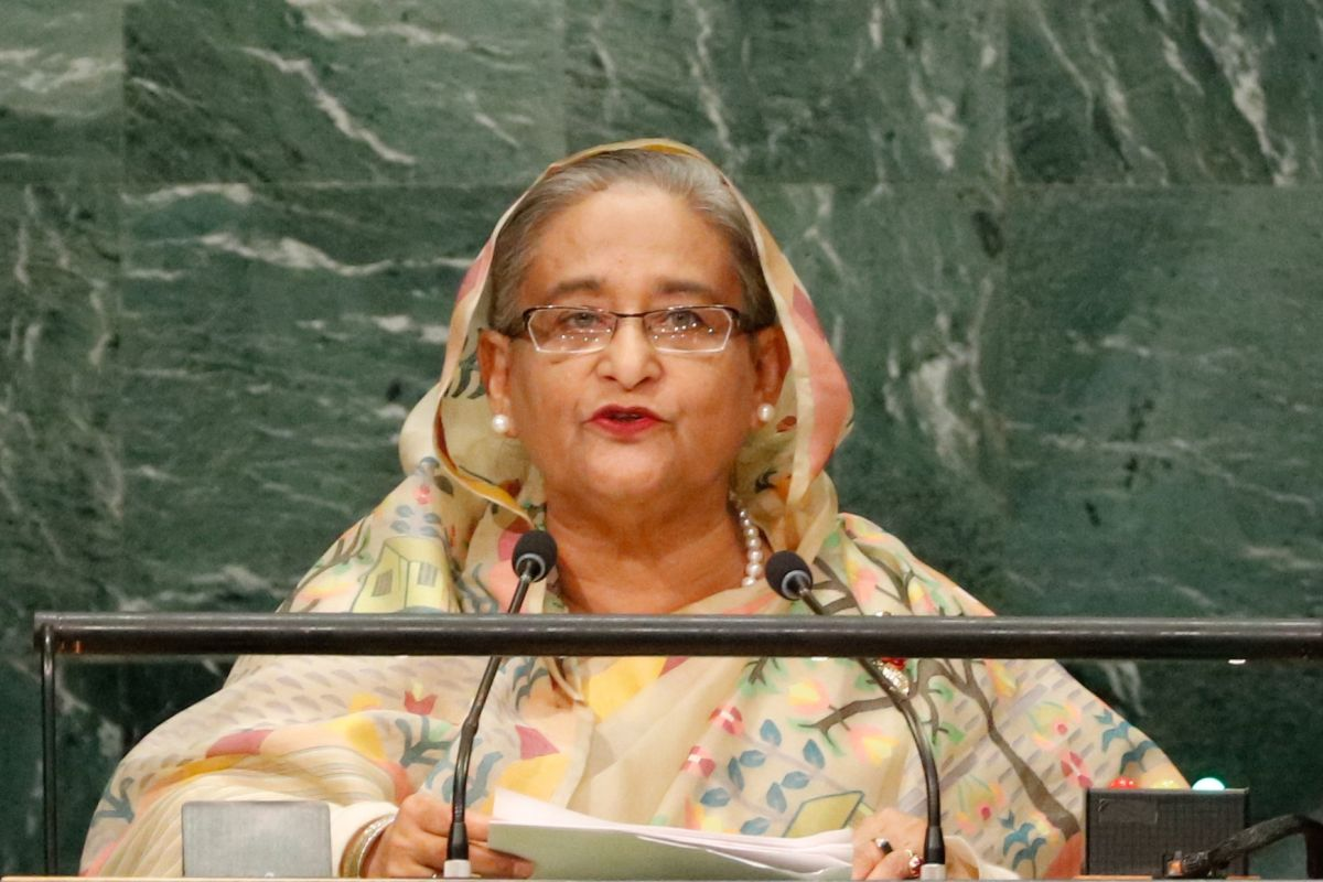 Begum Hasina speaks, Bangladesh, Abu Dhabi, Citizenship Amendment Act, National Register of Citizens