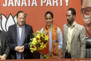 Saina Nehwal joins BJP ahead of Delhi Assembly Elections