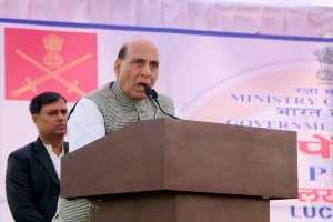 'Pakistan, even America are theocratic states, India is secular': Rajnath Singh