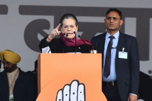JNU violence 'grim reminder of the extent Govt will go to stifle voice of dissent': Sonia Gandhi