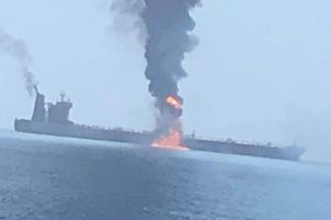 2 Indian sailors dead after tanker catches fire off UAE coast, several reported missing