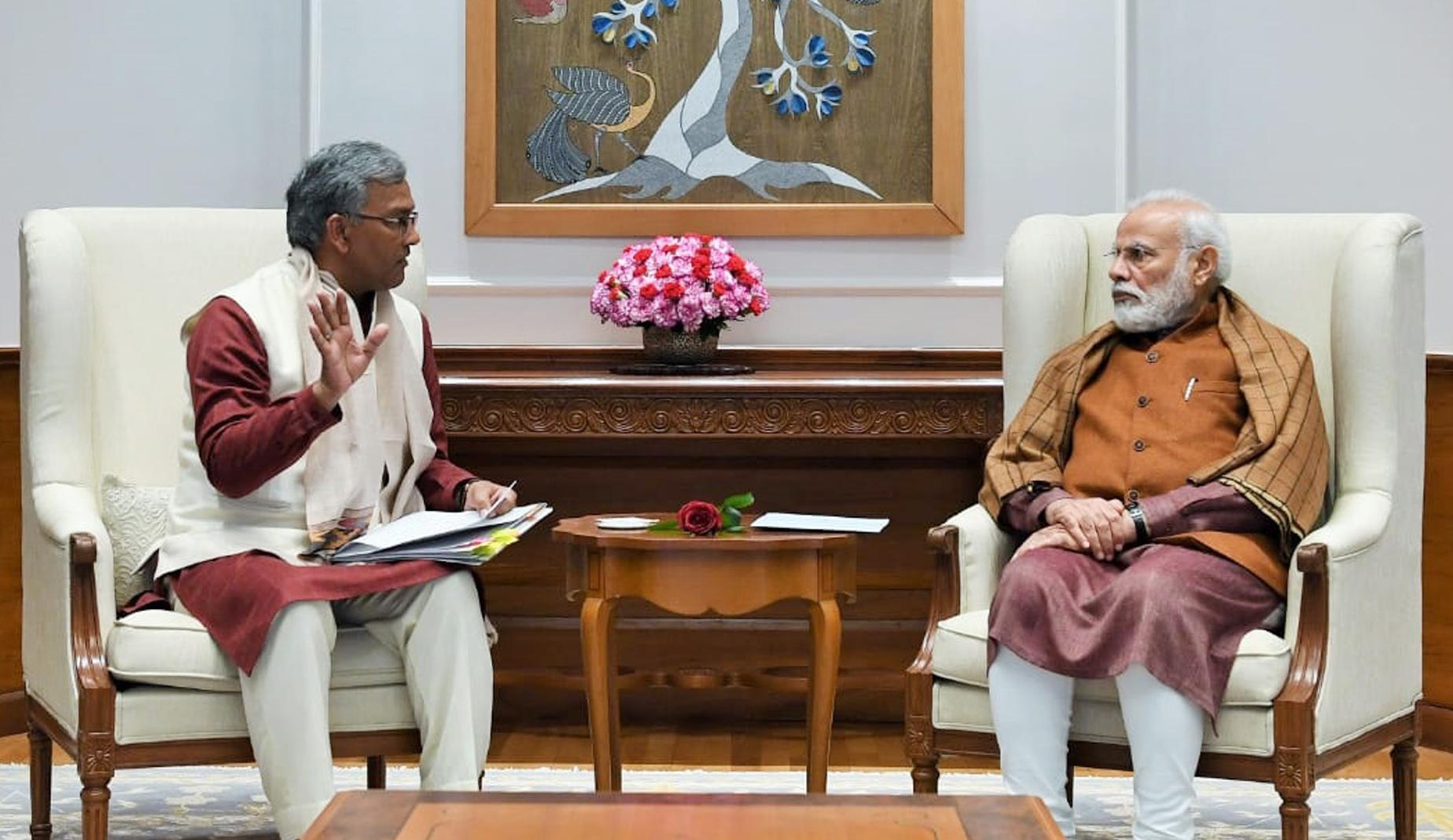 Uttarakhand, Dehradun, New Delhi, Trivendra Singh Rawat, Narendra Modi, BJP