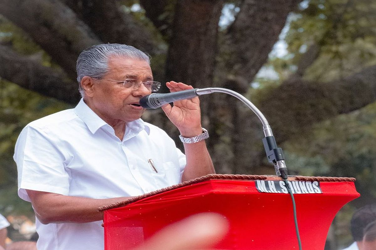 Pinarayi Vijayan while opposing CAA in public, trying 'good boy' image in front of PM secretly: Kerala Congres