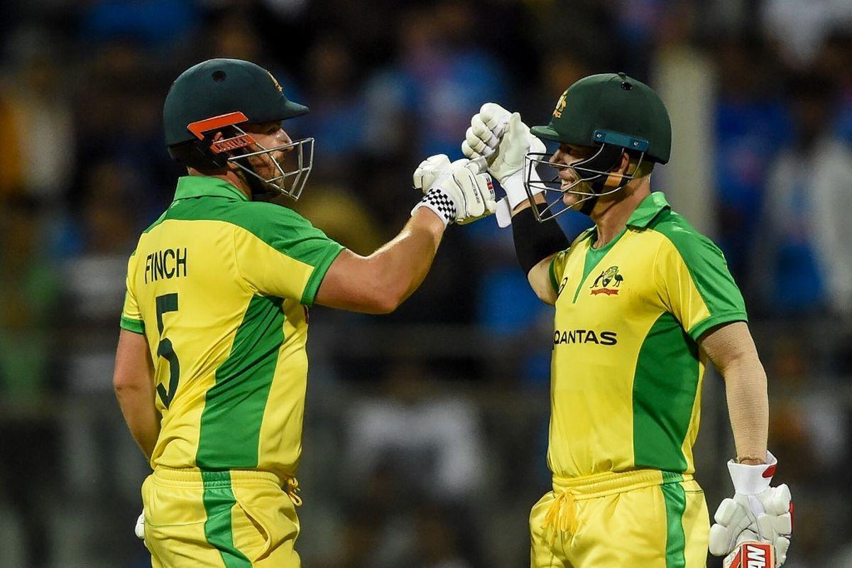David Warner, Aaron Finch, ICC Cricket World Cup 2023, IND vs AUS, Wankhede Stadium