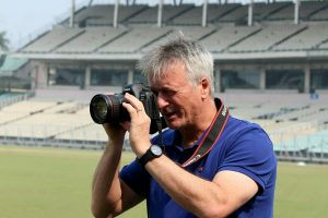 Steve Waugh turns photographer on his Eden return