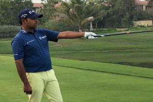 Anirban Lahiri trips towards finish on tough South Course, tied 119