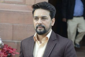 Union Minister Anurag Thakur goads mob to chant 'goli maro' at Delhi election campaign