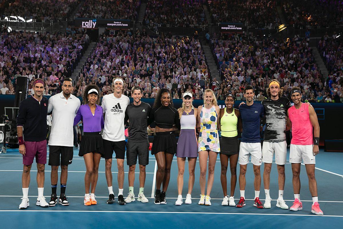Australian Open 2020, Australian bushfires, Roger Federer