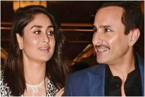 Saif Ali Khan and Kareena Kapoor Khan in 'twinning suits' has all hearts, see pics