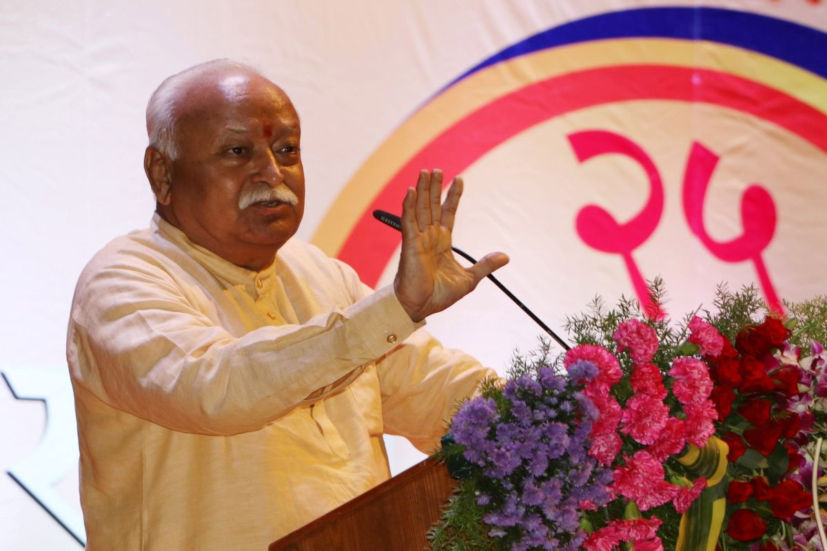 'Hindus imply to 130 crore people in country', says Mohan Bhagwat