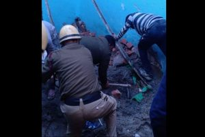 Four killed as building collapses in Delhi's Bhajanpura area, rescue work underway