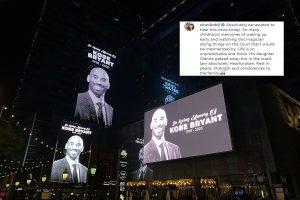 Heartbroken Cricket fraternity offers condolences to Basketball legend Kobe Bryant