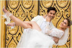 Sara Ali Khan, Varun Dhawan recreate fairytale in new glimpse of Coolie No 1
