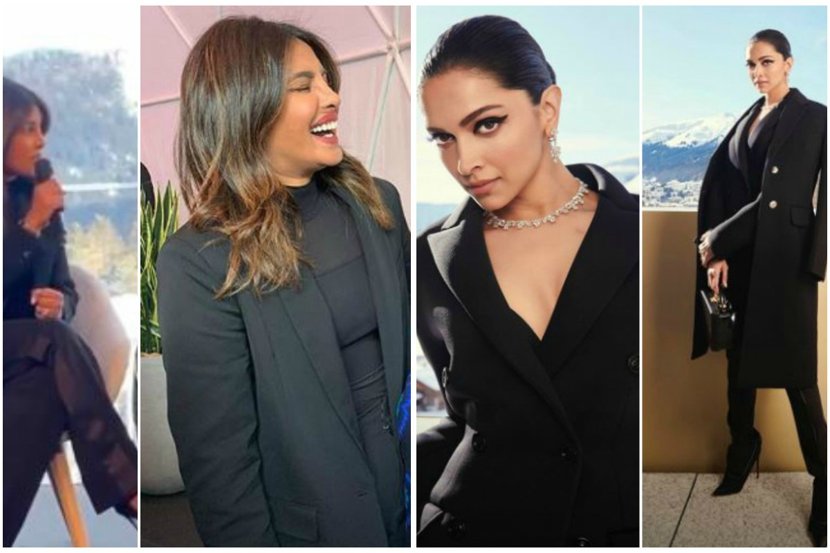 Is Black to the new millennial pink? Deepika-Priyanka's recent outfit says it all