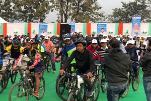 'SAKSHAM Cycle Rally' in 200 cities to aware people on fuel conservation held on Sunday