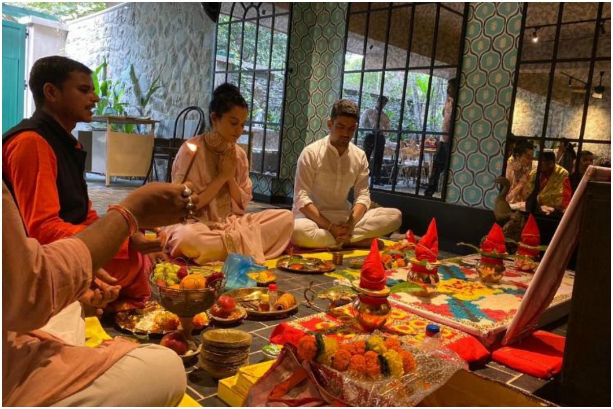 Kangana Ranaut inaugurates her production house, names it Manikarnika Films