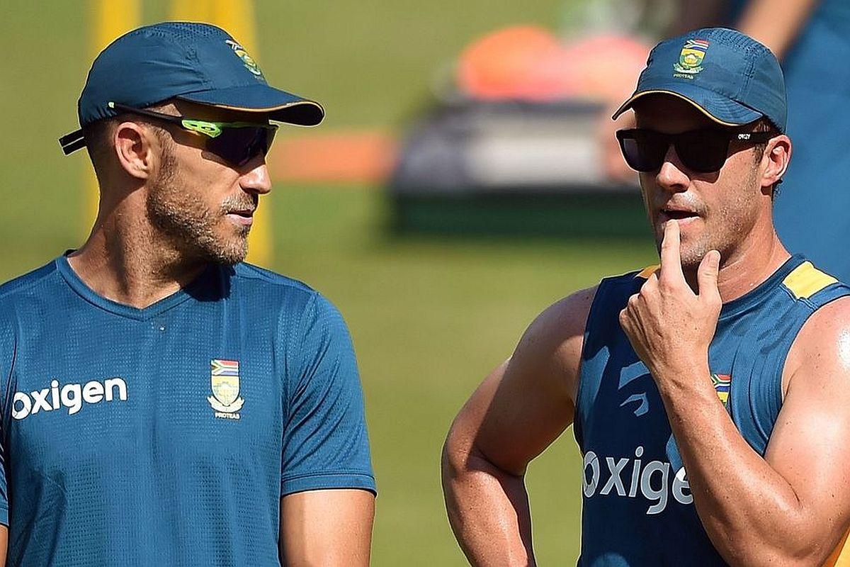 Faf du Plessis, AB de Villiers, ICC T20 World Cup 2020, de villiers retirement, de villiers comeback, when will de villiers comeback, de villiers comeback for t20 world cup