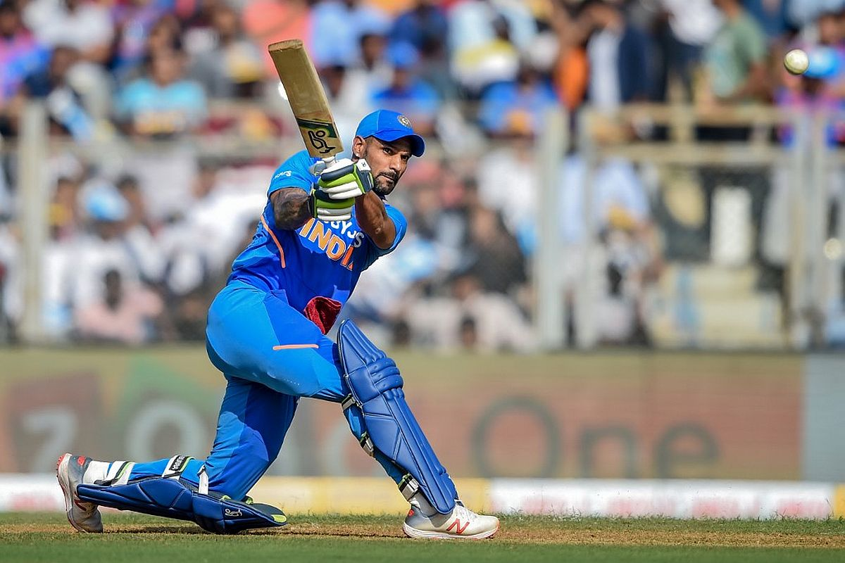 Shikhar Dhawan, India vs Australia ODI Series 2020, IND vs AUS