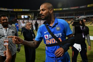 Shikhar Dhawan ruled out of New Zealand T20Is due to shoulder injury