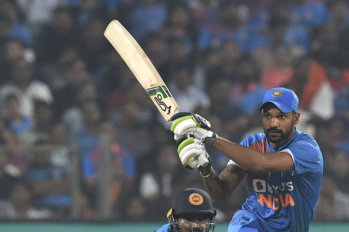 Shikhar Dhawan, India vs Sri Lanka T20I Series 2020, IND vs SL, India vs Sri Lanka 3rd T20 2020, India vs Sri Lanka Pune T20I 2020