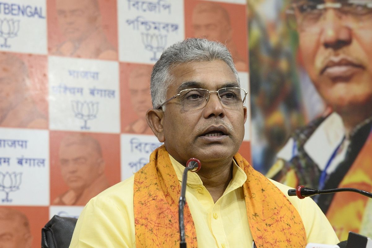 Bengal BJP chief and MP Dilip Ghosh, Duare Sarkar,