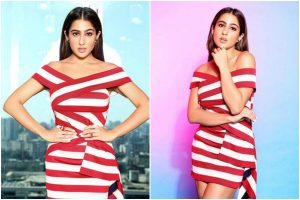 Sara Ali Khan's striped dress oozes out summer vibes