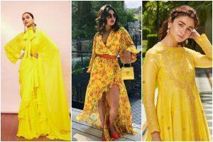 Yellow outfits hit hard as Basant Panchmi walks in