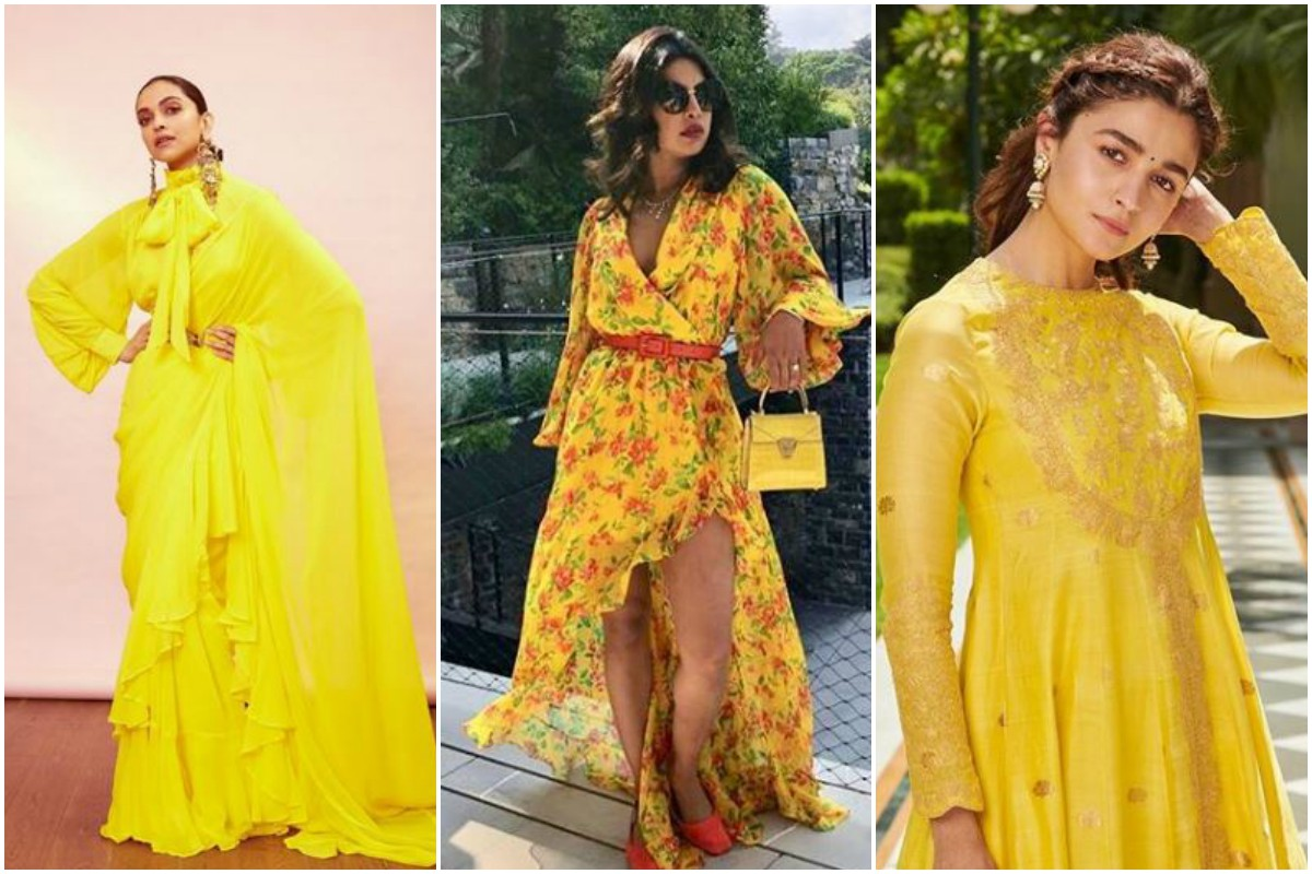 Yellow outfits hit hard as Basant Panchmi walks in