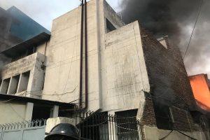 Fire breaks out in Delhi's shoe factory, rescue operation underway