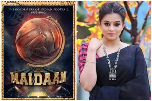 National award-winning actress Priyamani replaces Keerthy Suresh in Ajay Devgn's Maidaan