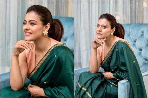 Kajol flaunts her ethnic fashion game at Tanhaji promotions; see pics