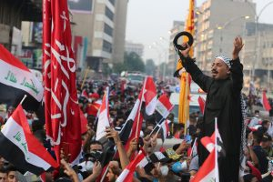 Thousands take to street in Iraq, demand new govt amid spike in regional tensions