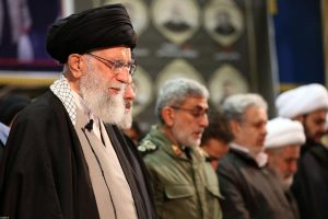 Iran's supreme leader weeps at prayer for General Qassem Suleimani, killed by US