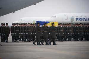 Bodies of Ukrainian victims killed in plane crash sent back home from Iran