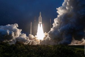 ISRO's GSAT-30 satellite successfully launched aboard Ariane rocket from French Guiana