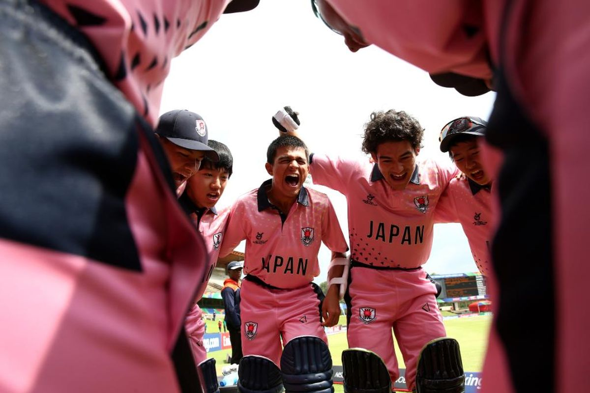 World Cup, ICC U19 Cricket World Cup 2020, Japan U19s, India U19s, Japan, India
