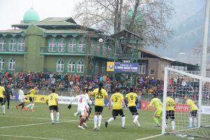 I-League: Mohun Bagan beat Real Kahsmir FC in Srinagar to go on top