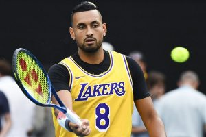 Australian Open 2020: Nick Kyrgios wears Kobe Bryant's Lakers jersey to pay tribute