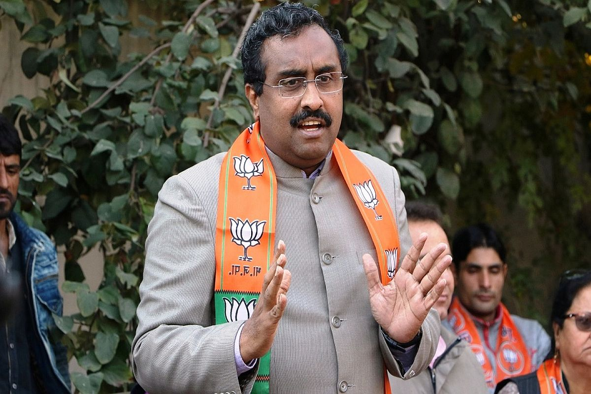 'Even Austria amended law for Jews': Ram Madhav on CAA