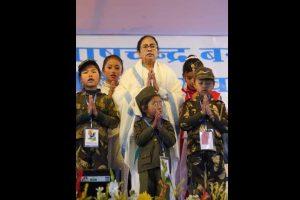 Secular fabric Netaji fought for in danger: CM