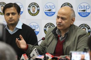 BJP have handed over fake documents to 20 people residing in unauthorised colonies: Manish Sisodia