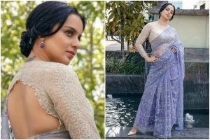 Kangana Ranaut and her love affair with sarees