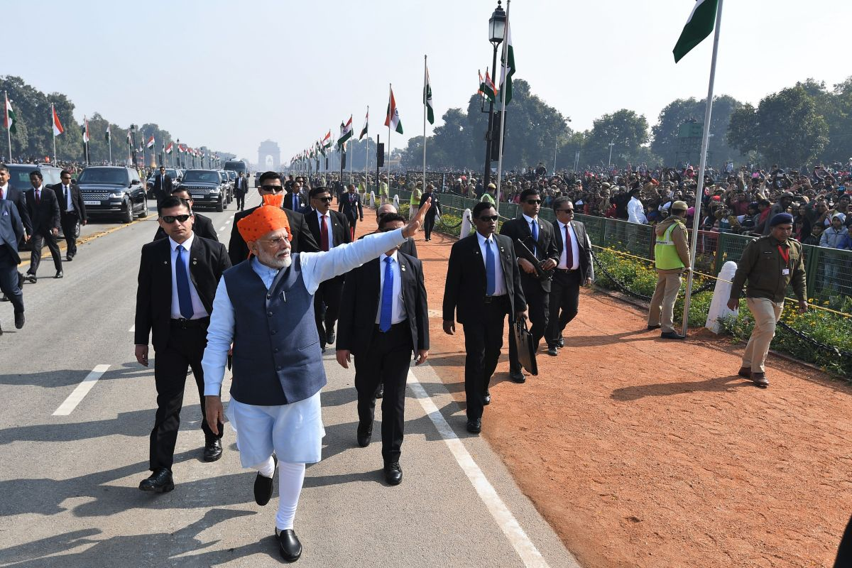 Central Government, Foreign dignitary, Republic Day parade,