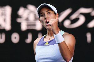 Australian Open 2020: Garbine Muguruza cruises past Simon Halep in semifinal
