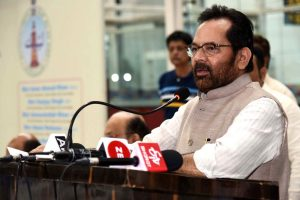 Mukhtar Abbas Naqvi accuses Congress of trying to create 'confusion' over CAA