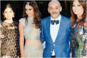 Isha Ambani slays in all-black ensemble at French designer's birthday party