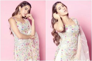 Sara Ali Khan in floral print gives major 'SPRING' goals